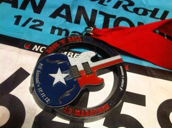 Rock 'n Roll San Antonio Half Marathon Medal