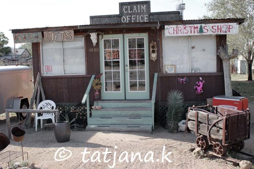 Chloride, Arizona - unusual shop