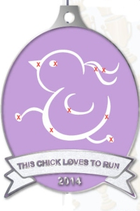 This Chick Loves To Run (for a cure) Virtual Race
